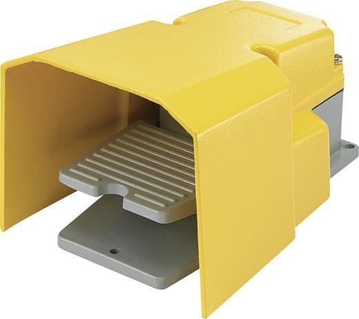 FS-502 Voetschakelaar 250 V/AC 15 A 1 pedaal Met beschermkap 1x wisselaar 1 stuks