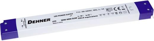 Dehner Elektronik LED 24V30W-MM-slim LED-transformator Constante spanning 30 W (max) 1.25 A 24 V/DC