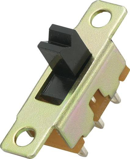 MS-280 Schuifschakelaar 1x aan/aan 1 stuks