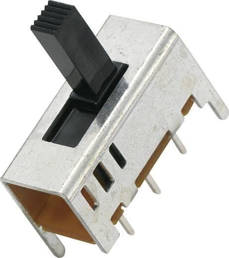 MS-049-22 Schuifschakelaar 2x aan/aan 1 stuks