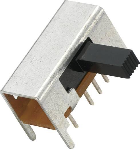 MS-049L Schuifschakelaar 2x aan/uit/aan 1 stuks