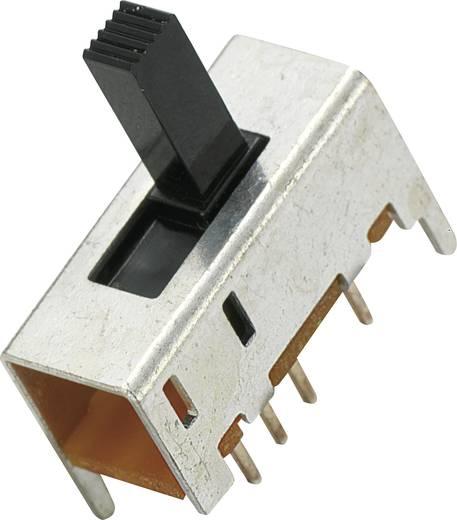 MS-049 Schuifschakelaar 2x aan/uit/aan 1 stuks