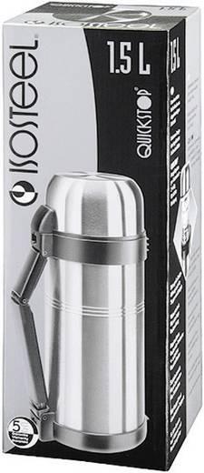 Isosteel Vacuüm Fles 1.5 L VA-9560WQ Thermosfles RVS (glanzend) 1.5 l