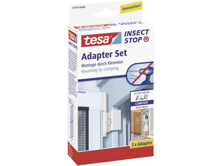 TESA Vliegenhor Comfort adapter voor raam met aluminium frame Alu Comfort kozijnadapter 55193-00