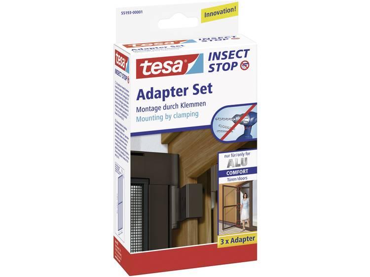 TESA Vliegenhor Comfort adapter voor raam met aluminium frame Alu Comfort kozijnadapter 55193-01