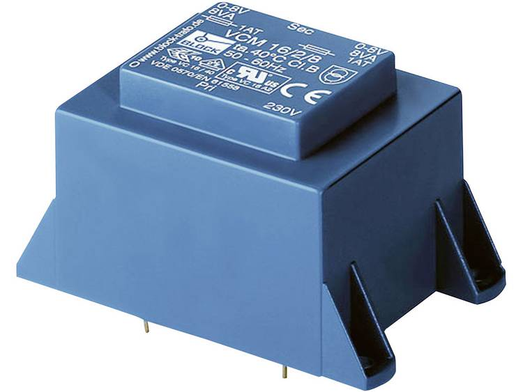 Block VCM 36/2/6 Printtransformator 1 x 230 V 2 x 6 V/AC 36 VA 6 A