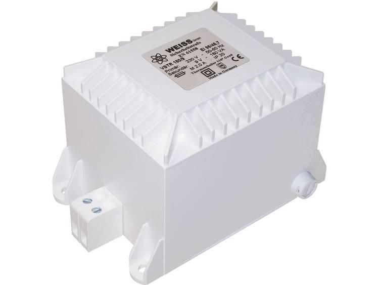 Weiss Elektrotechnik VSTR 100 12 Veiligheidstransformator 1 x 230 V 1 x 12 V AC