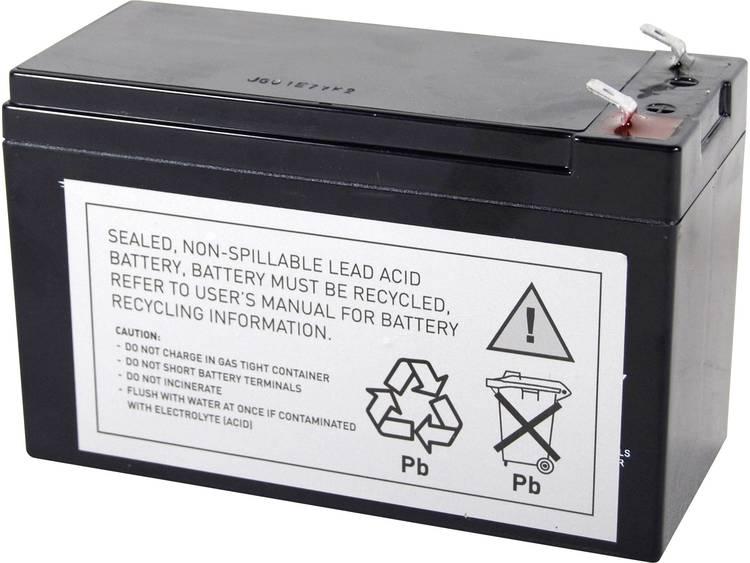 Conrad energy UPS-systeemaccu Vervangt originele accu RBC17 Geschikt voor model 515-970, BE650BB, BE650BB-CN, BE650G, BE650R, BE650R-CN, BE650Y-IN, BE700-AZ,