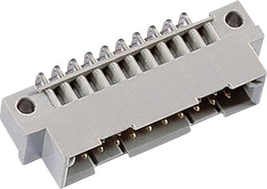 ept DIN 41612 type B/3 20M vanaf 3 mm 90° Male connector Totaal aantal polen 20 Aantal rijen 2 1 stuks