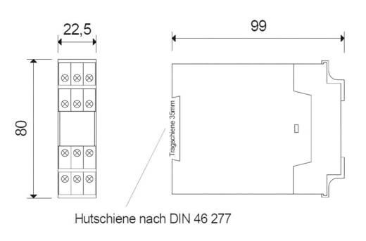 Riese SAFE 2.1 1 stuks Voedingsspanning (num): 24 V/DC, 24 V/AC 2x NO