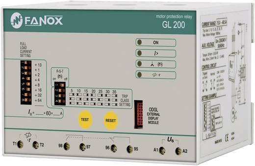 Fanox GL200 Motorbescherming-relais 1x NO, 1x NC 1 stuks