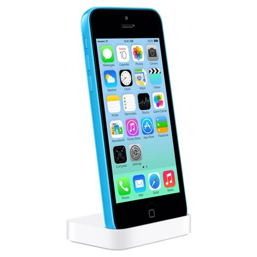 Apple iPhone 5c dock, Lightning-connector