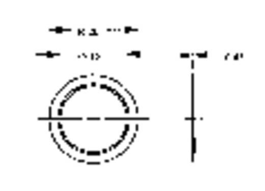 Piëzo keramische geluidsomvormer 6400 ± 500 Hz Inhoud: 1 stuks