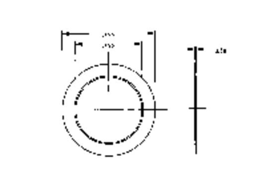 Piëzo keramische geluidsomvormer 2900 ± 500 Hz Inhoud: 1 stuks