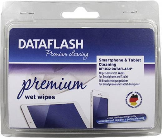 DataFlash DF1032 Smartphone- en tablet-reinigingsdoekjes 10 stuks
