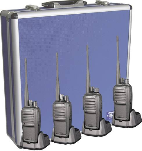 Team Electronic PMR-portofoon TeCom-SL Set van 4