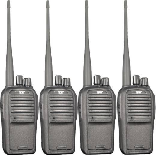Freenet-portofoon Team Electronic TeCom-SL PR8572 Set van 4