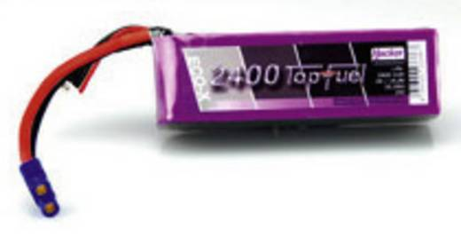 LiPo accupack 14.8 V 2400 mAh 20 C Hacker EC3