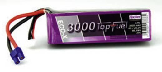 LiPo accupack 22.2 V 3000 mAh 20 C Hacker EC3
