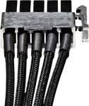 Stroom Kabel [1x SATA-stroomstekker - 1x bequiet! stroomaansluiting modulair] 0.30 m Zwart BeQuiet