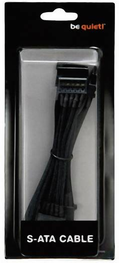 Kabel BeQuiet Stroom [4x SATA-stroomstekker - 1x bequiet! stroomaansluiting modulair] 0.72 m Zwart