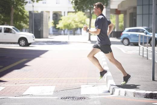 Runner GPS-sporthorloge donkergrijs