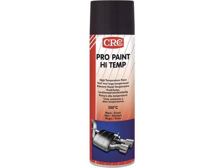 Acryllak zwart 500 ml CRC PRO PAINT HI TEMP 32216 AA