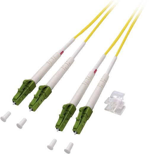 EFB Elektronik Glasvezel Aansluitkabel [1x LC/APC 8°-stekker - 1x LC/APC 8°-stekker] 9/125µ 15 m