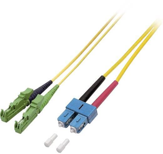 EFB Elektronik Glasvezel Aansluitkabel [1x E2000/APC 8°-stekker - 1x SC-stekker] 9/125µ 20 m