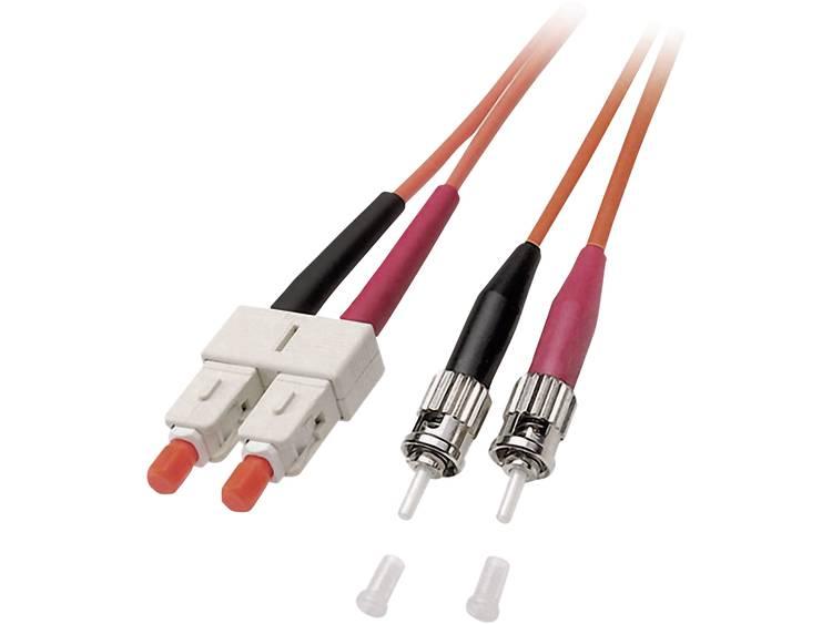 Kabel EFB Elektronik Glasvezel [1x ST stekker 1x SC stekker] 625 125µ 1 m