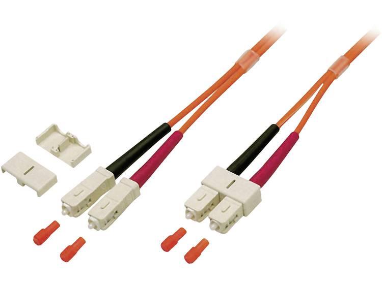 Kabel EFB Elektronik Glasvezel [1x SC stekker 1x SC stekker] 625 125µ 3 m