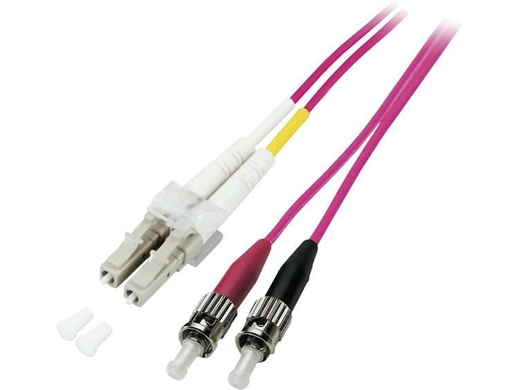 Kabel EFB Elektronik Glasvezel [1x LC-stekker - 1x ST-stekker] 50/125µ 20 m