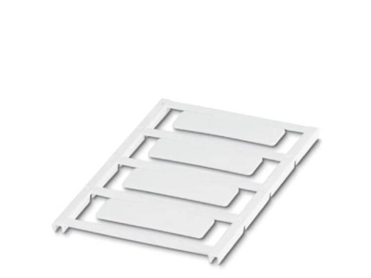 Apparaatmarkering Montagemethode: Vastklemmen Markeringsvlak: 49 x 15 mm Geschikt voor serie Frames Wit Phoenix Contact UC-EMP (49X15) 0825457 Aantal