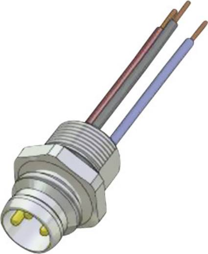 Conec SAL-8-FS3-0,2 M8 sensor-/actor-inbouwconnector Aantal polen: 3 Inhoud: 1 stuks
