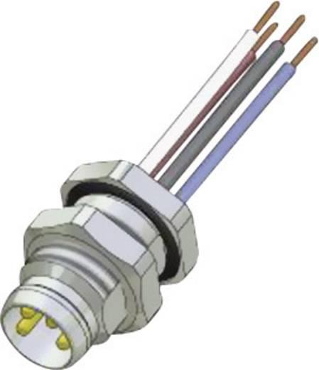 Conec SAL-8-FSH4-0,2 M8 sensor-/actor-inbouwconnector Aantal polen: 4 Inhoud: 1 stuks