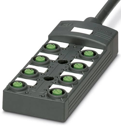 Passieve sensor/actorbox M12-verdeler met kunstof schroefdraad SACB-8/16-L-10,0PUR SCO P 1452738 Phoenix Contact 1 stuks