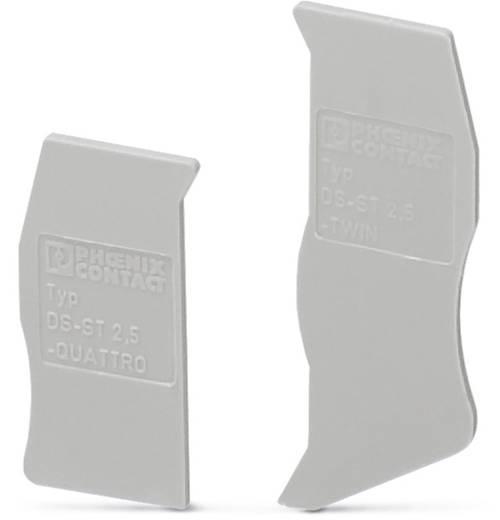 Phoenix Contact DS-ST 2,5 DS-ST 2,5 - dekselsegment 10 stuks