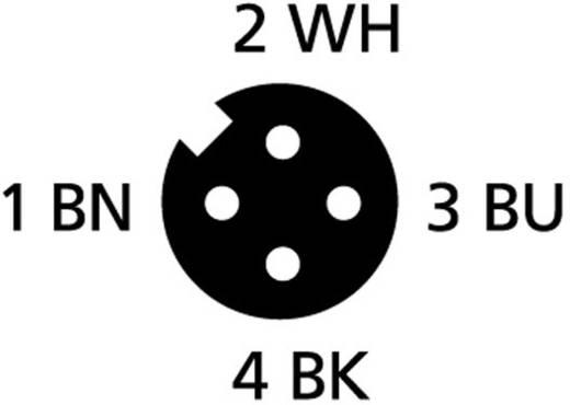 """Escha FB-SWKP4-2/S2300 M8 sensor-/actorkabel """"Food&Beverage plus"""" Aantal polen: 4 Inhoud: 1 stuks"""