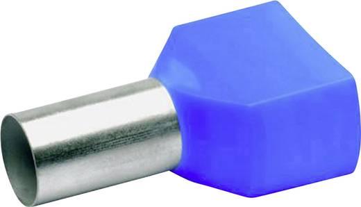 Klauke 87714 Dubbele adereindhuls 2 x 16 mm² x 14 mm Deels geïsoleerd Blauw 100 stuks