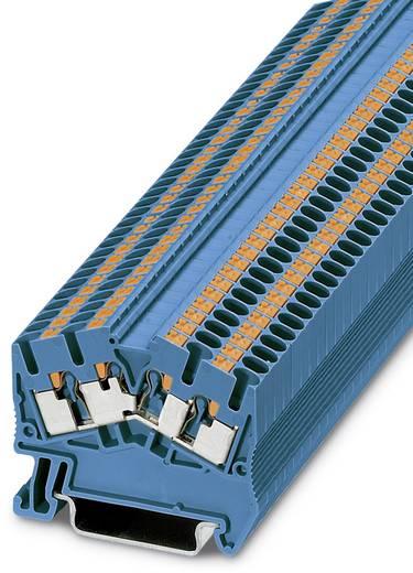 Phoenix Contact PTS 2,5-QUATTRO BU PTS 2,5-QUATTRO BU - doorgangsserieklem Blauw Inhoud: 50 stuks