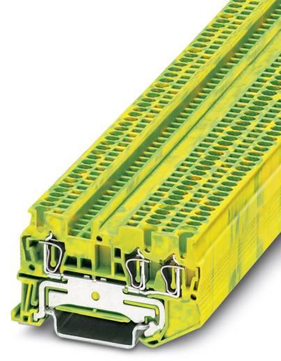 Phoenix Contact ST 1,5-TWIN-PE ST 1,5-TWIN-PE - doorgangsserieklem Groen-geel Inhoud: 50 stuks