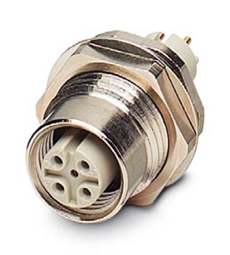 Phoenix Contact SACC-DSIV-M12FS-4CON-L180-SI 1528154 SACC-DSIV-M12FS-4CON-L180-SI-inbouwstekker Inhoud: 10 stuks