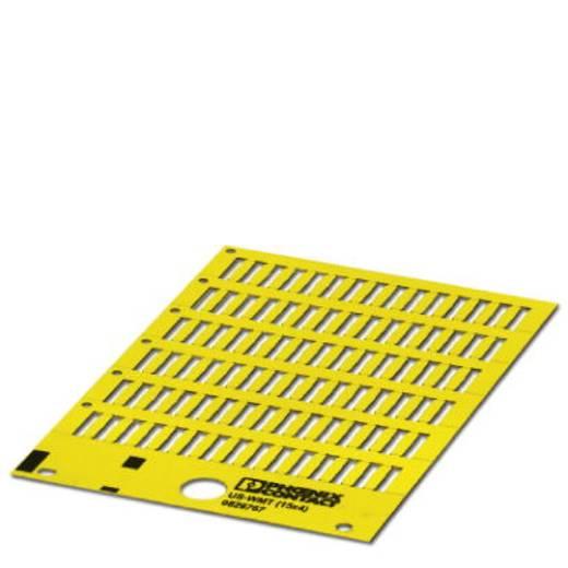 US-WMT (15X4) YE - Kabelmarkeerder Aantal markeringen: 840 US-WMT (15X4) YE Phoenix Contact Inhoud: 10 stuks