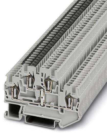 Phoenix Contact STTB 1,5-PV STTB 1,5-PV - doorgangsserieklem Grijs Inhoud: 50 stuks