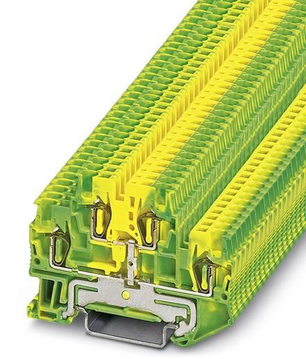 Phoenix Contact STTB 1,5-PE STTB 1,5-PE - doorgangsserieklem Groen-geel Inhoud: 50 stuks