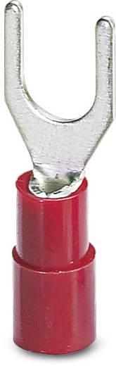 Phoenix Contact 3240034 Vorkkabelschoen 0.5 mm² 1.5 mm² Gat diameter=4.3 mm Deels geïsoleerd Rood 100 stuks