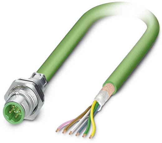 Phoenix Contact SACCBP-M12MSB-5CON-M16/1,0-900 1534517 SACCBP-M12MSB-5CON-M16/1,0-900 - bussysteem-inbouwconnector Inho
