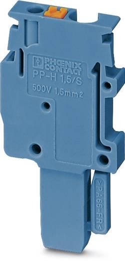 Phoenix Contact PP-H 1,5/S/1-L BU PP-H 1,5/S/1-L BU - stekker Blauw Inhoud: 50 stuks