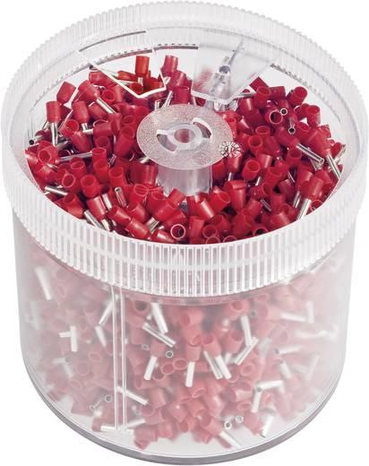 Vogt Verbindungstechnik 470308.s20 Adereindhulzen 1 x 1 mm² x 8 mm Deels geïsoleerd Rood 2000 stuks