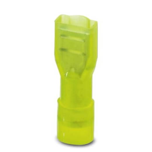 Phoenix Contact C-SCFFI 6/6,3X0,8 Vlakstekker Insteekbreedte: 6.3 mm Insteekdikte: 0.8 mm 180 ° Volledig geïsoleerd Geel 25 stuks